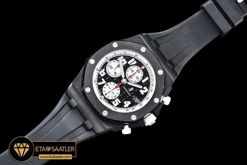Audemars Piguet Royal Oak Offshore Chronograph Marcus Edition PVD Kaplama Seramik Bezel Siyah ETA