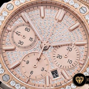 AP0385A - Royal Oak Chronograph 26322O RGRG Diams A7750 - 08.jpg