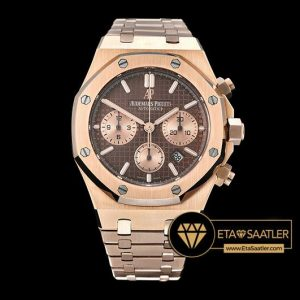 AP0486A - Royal Oak Chronograph 26320ST RGRG Brown JHF A7750 - 10.jpg