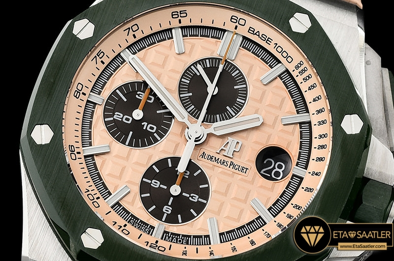 Audemars Piguet Royal Oak Offshore Chronograph 2018 Combat Kauçuk Kordon ETA