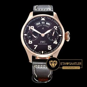 IWC0387B - Big Pilot Annual Cal. St Exp RGLE Brown YLF A52850 - 12.jpg