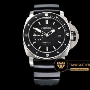 Panerai Luminor Submersible PAM389 AMagnetic Titanyum Kasa Siyah Kadran ETA