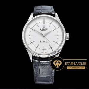Rolex Cellini Time 50509 Beyaz Kadran 1:1 Super Clone ETA