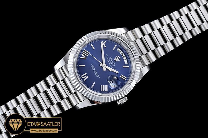 Rolex Day Date 228239 Mavi Kadran 1:1 Super Clone ETA