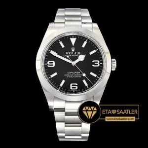Rolex Explorer 214270 Version 8 1:1 904L Çelik 3132 Super Clone ETA