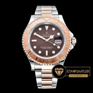 ROLYM133 - YachtMaster 116623 40mm Wrapped RGSS Brown BP A3135 - 12.jpg